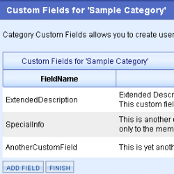 Category custom fields for AbleCommerce merchant admin
